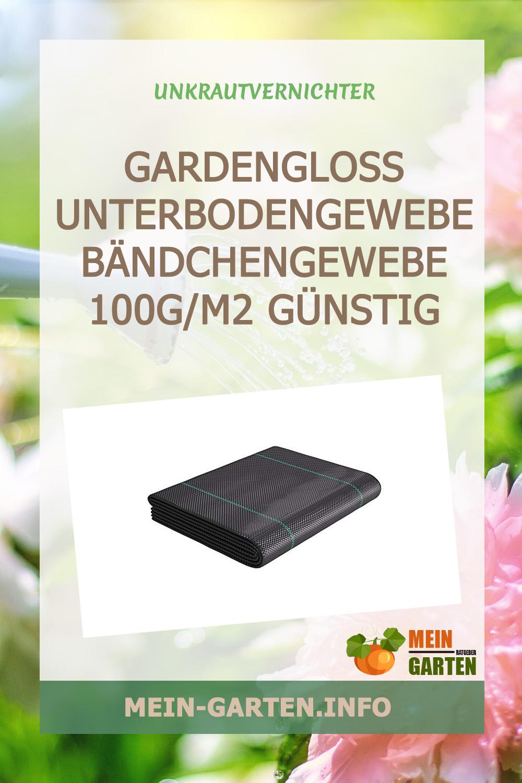 GardenGloss Unterbodengewebe Bändchengewebe 100g/m2 günstig kaufen