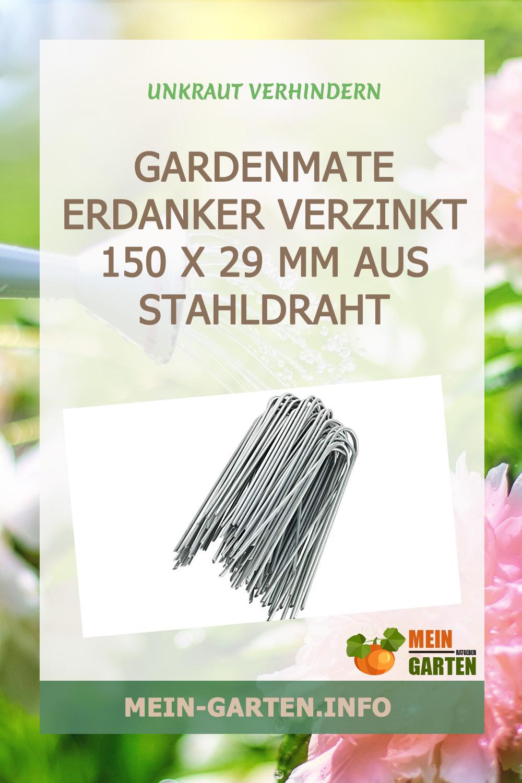 GardenMate Erdanker VERZINKT 150 x 2,9 mm aus Stahldraht günstig kaufen