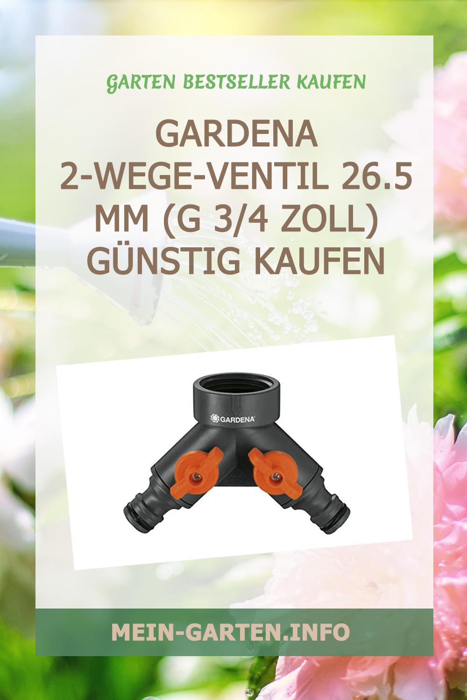 Gardena 2-Wege-Ventil 26.5 mm (G 3/4 Zoll) günstig kaufen