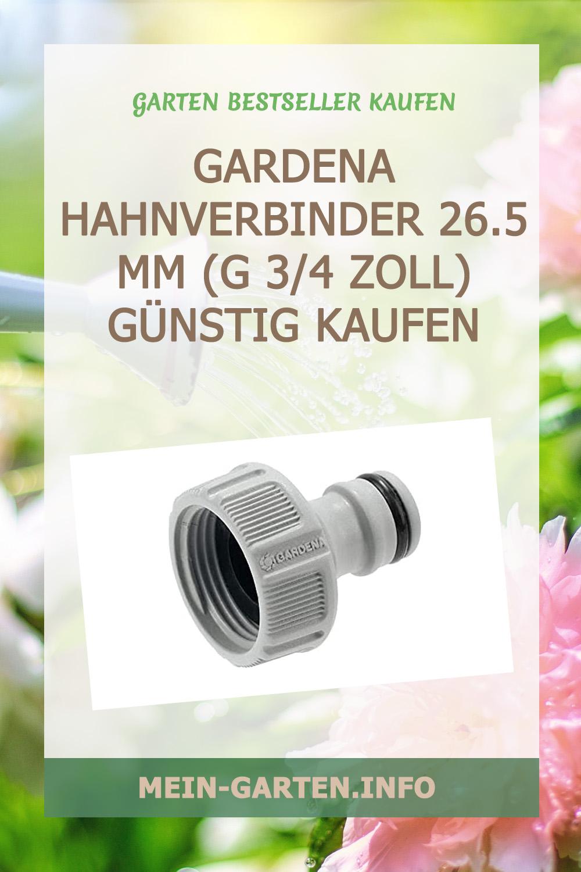 Gardena Hahnverbinder 26.5 mm (G 3/4 Zoll) günstig kaufen