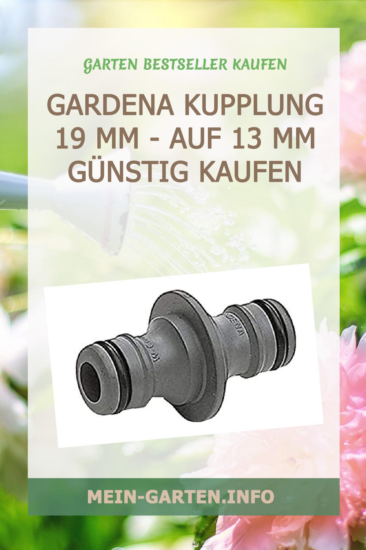 Gardena Kupplung 19 mm (3/4 Zoll) - auf 13 mm (1/2 Zoll) günstig kaufen