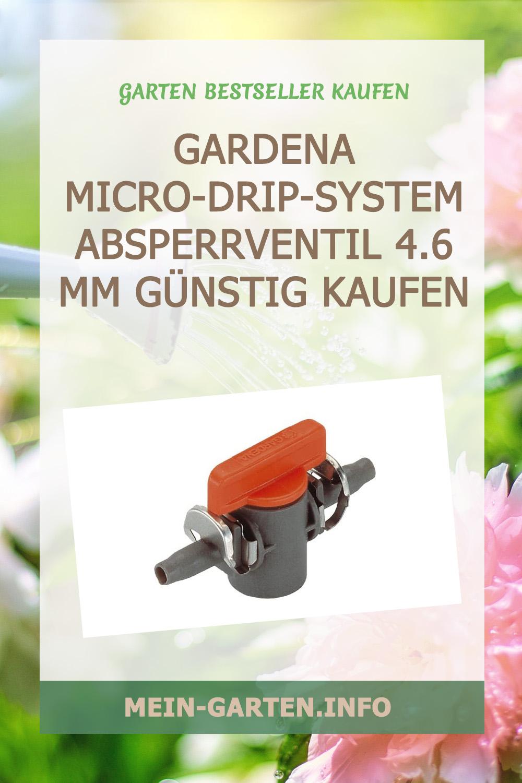 Gardena Micro-Drip-System Absperrventil 4.6 mm (3/16 Zoll) günstig kaufen