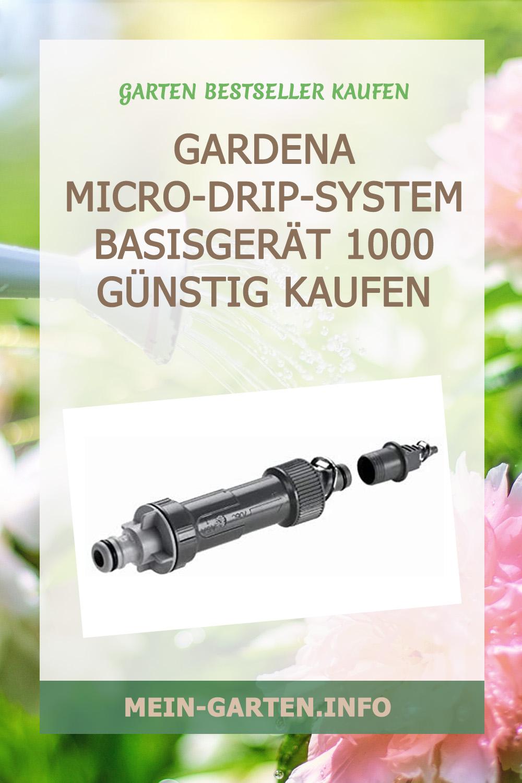 Gardena Micro-Drip-System Basisgerät 1000 günstig kaufen