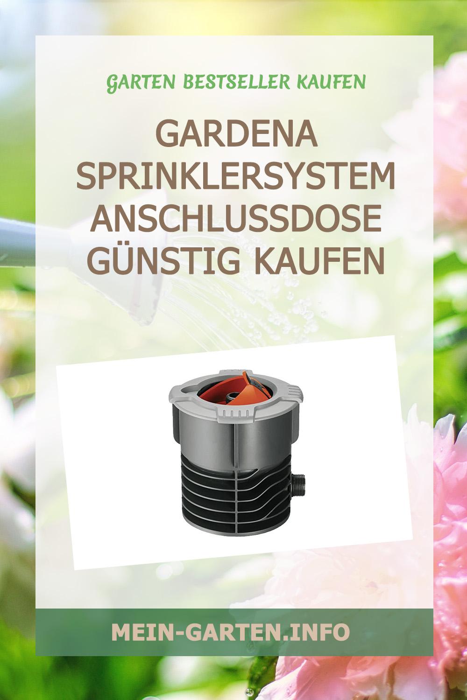 Gardena Sprinklersystem Anschlussdose günstig kaufen
