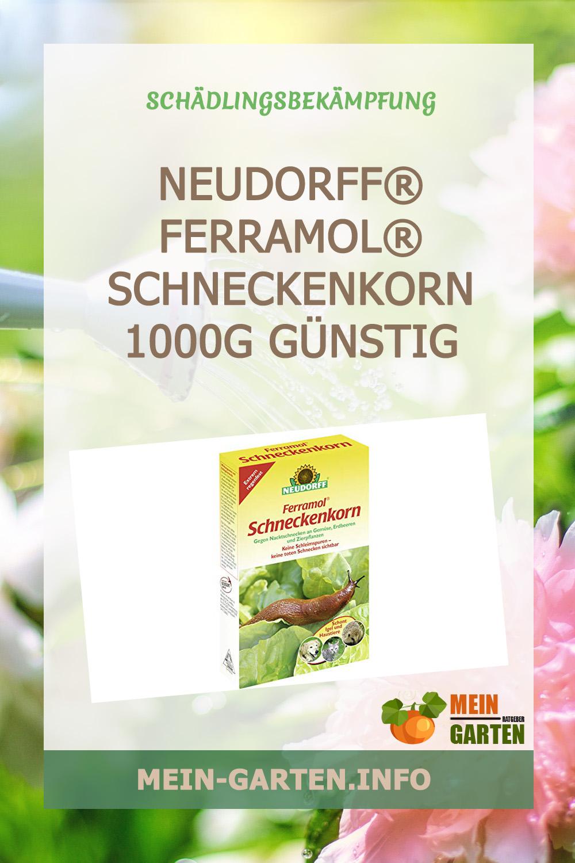 NEUDORFF® Ferramol® Schneckenkorn, 1000g günstig kaufen