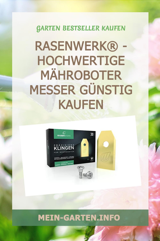 RASENWERK® - Hochwertige Mähroboter Messer günstig kaufen