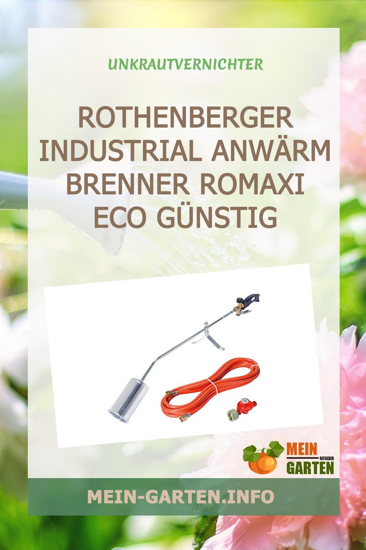ROTHENBERGER Industrial Anwärm Brenner RoMaxi Eco günstig kaufen