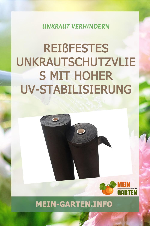 Reißfestes Unkrautschutzvlies mit hoher UV-Stabilisierung  50g/m² günstig kaufen
