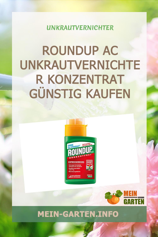 Roundup AC Unkrautvernichter Konzentrat günstig kaufen