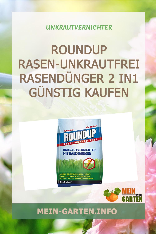 Roundup Rasen-Unkrautfrei Rasendünger 2 in1 günstig kaufen