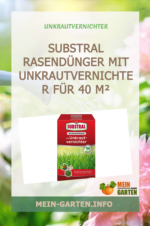 Substral Rasendünger mit Unkrautvernichter für 40 m² günstig kaufen