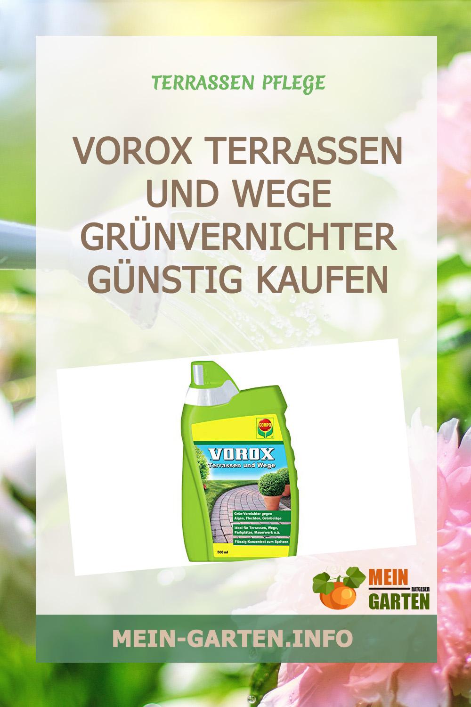 VOROX Terrassen und Wege Grünvernichter günstig kaufen