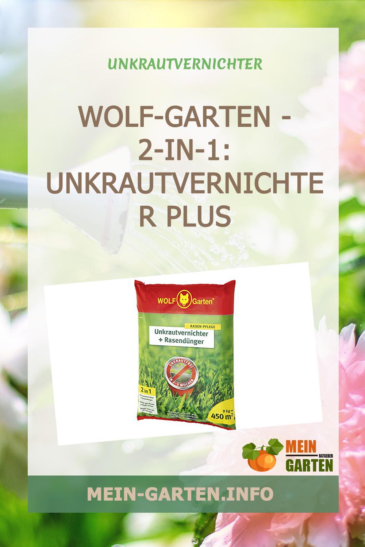 WOLF-Garten – 2-in-1: Unkrautvernichter plus Rasendünger SQ 450 günstig kaufen