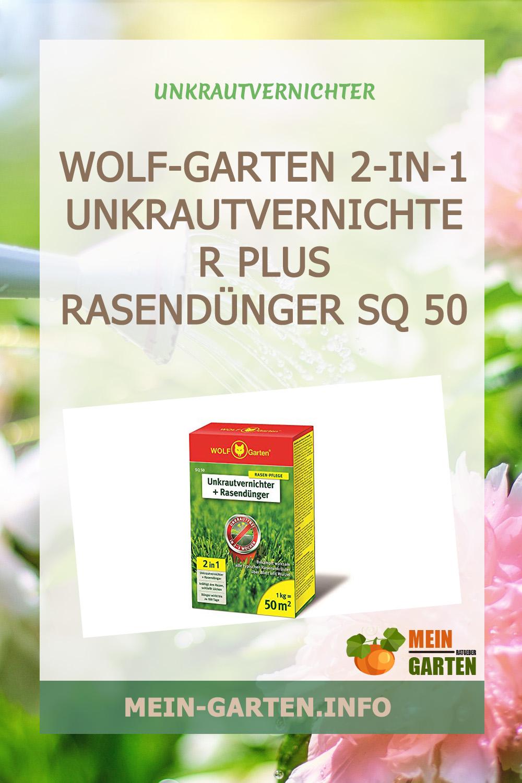 WOLF-Garten 2-in-1 Unkrautvernichter plus Rasendünger SQ 50 günstig kaufen