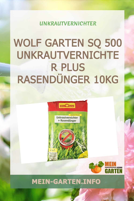 WOLF Garten SQ 500 Unkrautvernichter Plus Rasendünger 10kg günstig kaufen