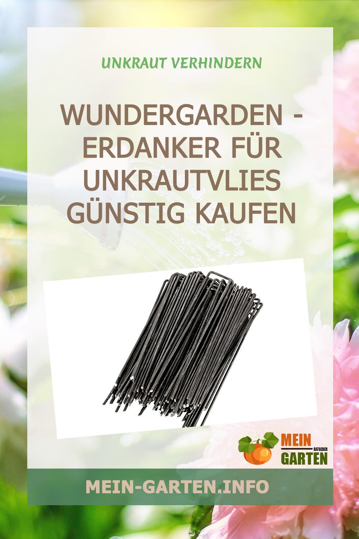 WUNDERGARDEN – Erdanker für Unkrautvlies günstig kaufen