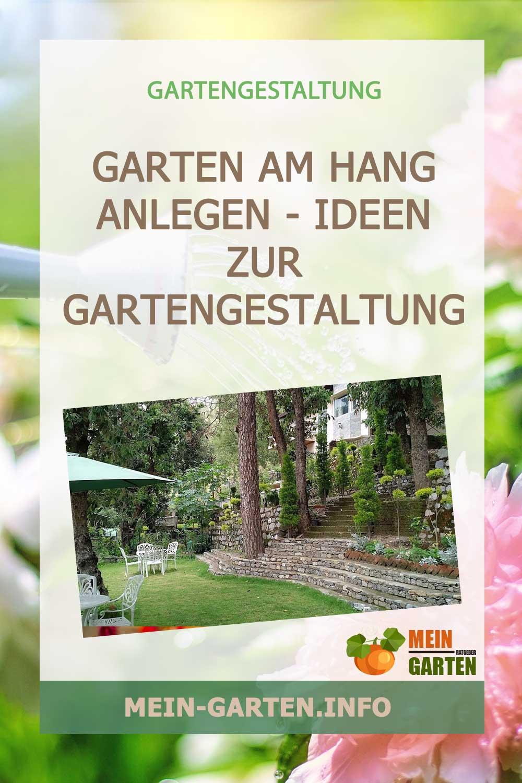 Garten am Hang anlegen – Ideen zur Gartengestaltung