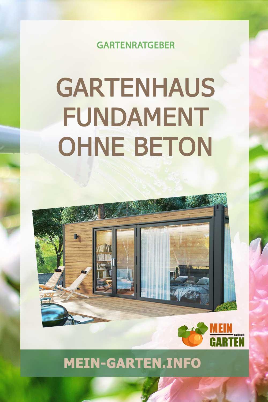 Ein Gartenhaus aus Holz als DIY-Projekt – mit dem Fundament ohne Beton von LogFoot