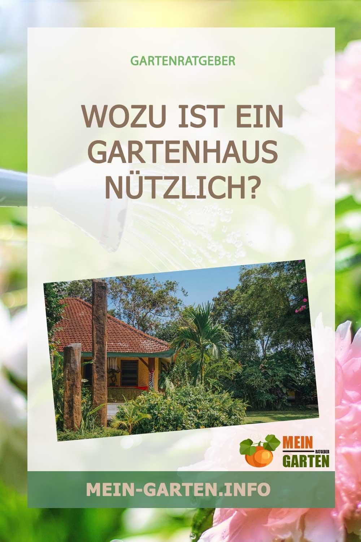 Wozu ist ein Gartenhaus nützlich?