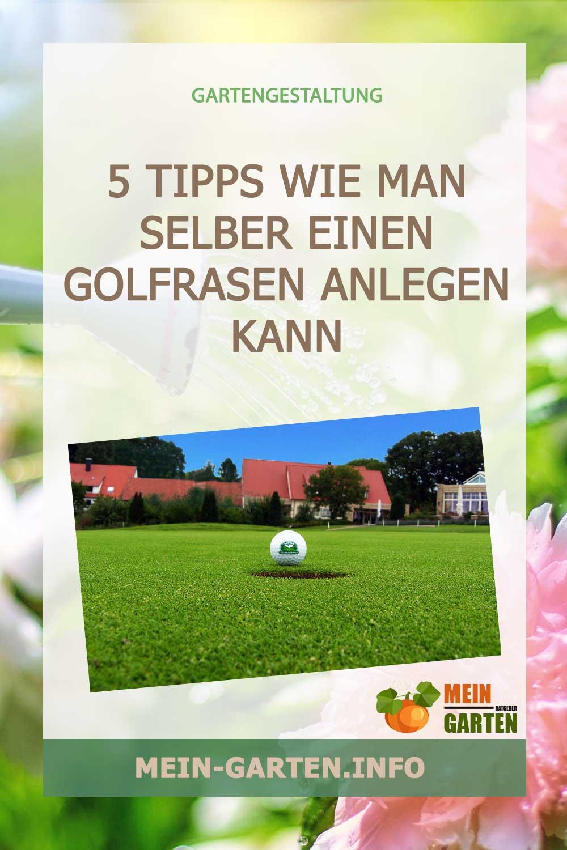 5 Tipps wie man selber einen Golfrasen anlegen kann