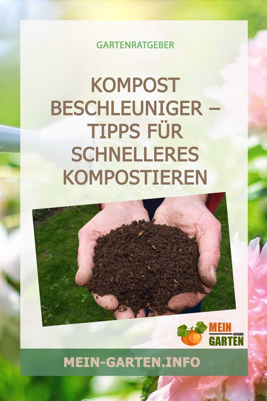 Kompost Beschleuniger – Tipps für schnelleres Kompostieren