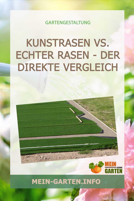 Kunstrasen vs. echter Rasen – Der direkte Vergleich