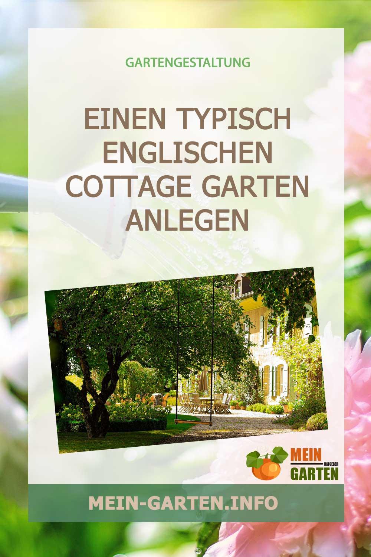 Gestaltungsideen: Einen typisch englischen Cottage Garten anlegen