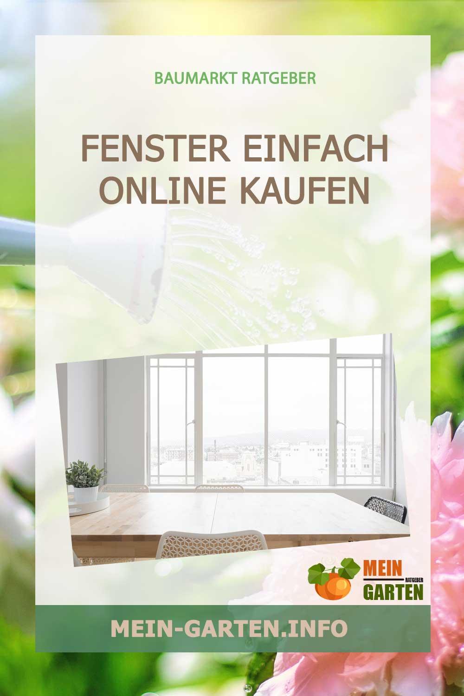 Ihre neuen Fenster online kaufen