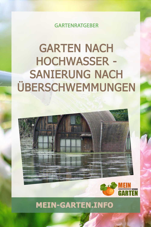 Garten nach Hochwasser – Sanierung nach Überschwemmungen