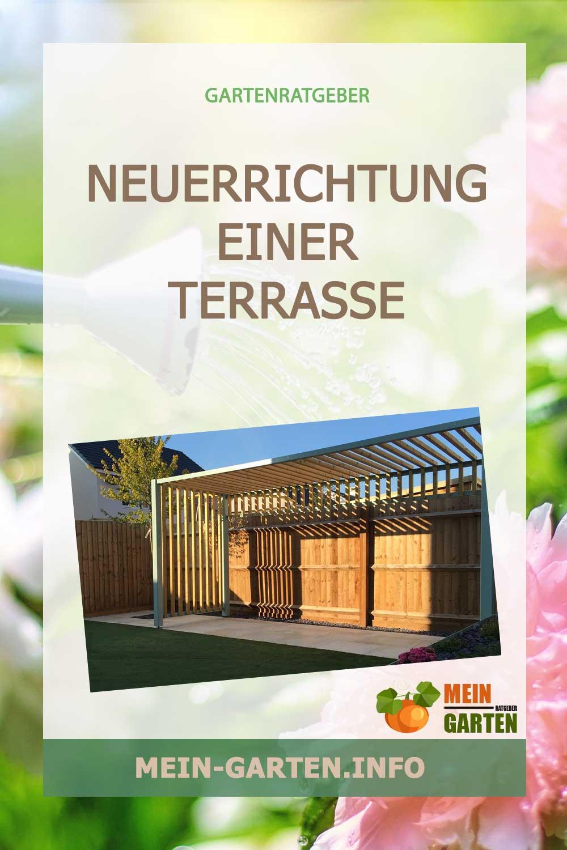Neuerrichtung einer Terrasse geplant? – Darauf gilt es zu achten