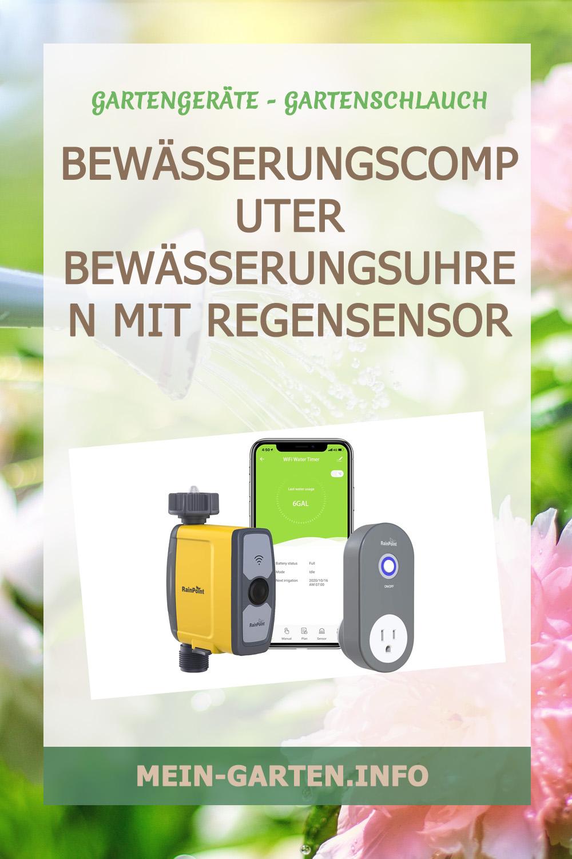 Bewässerungscomputer   Bewässerungsuhren mit Regensensor