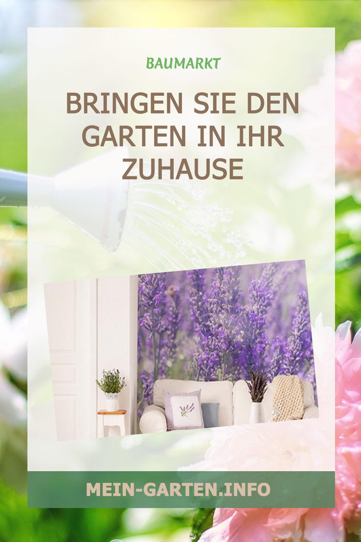 Bringen Sie den Garten in Ihr Zuhause