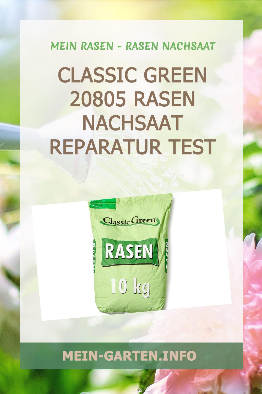 Classic Green 20805 Rasen Nachsaat Reparatur Test