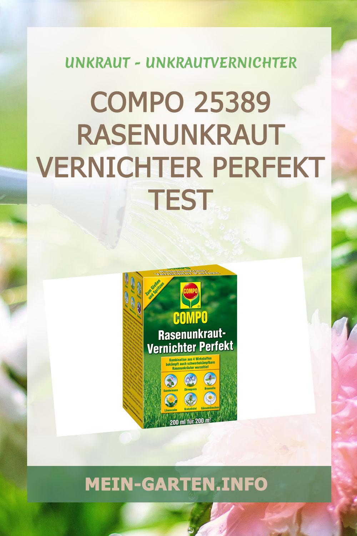 Compo 25389 Rasenunkraut Vernichter Perfekt Test