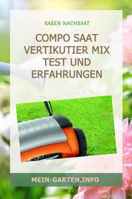 Compo Saat Vertikutier Mix Test und Erfahrungen