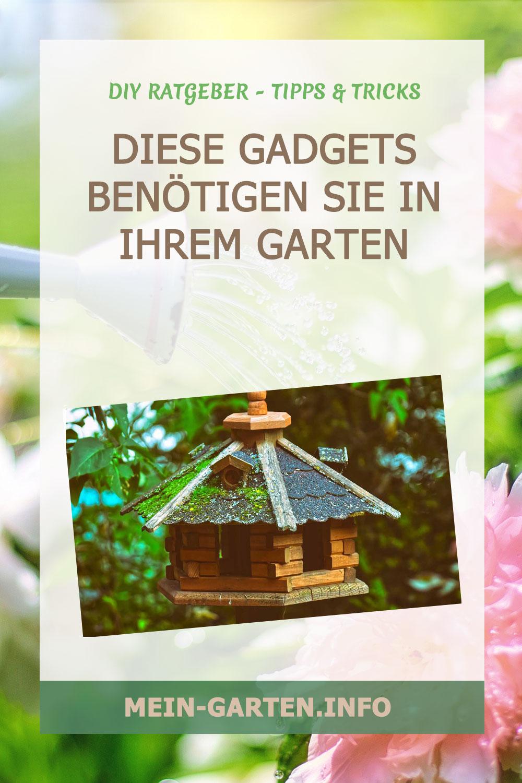 Diese Gadgets benötigen Sie in Ihrem Garten