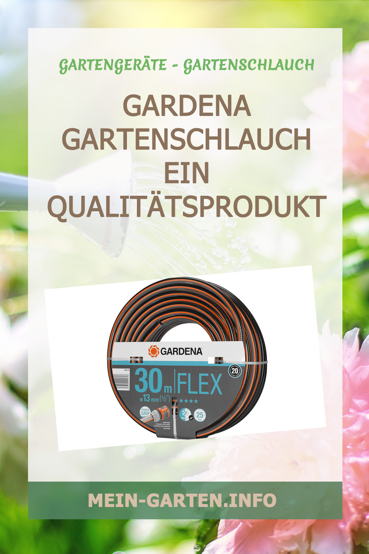 Gardena Gartenschlauch ein Qualitätsprodukt