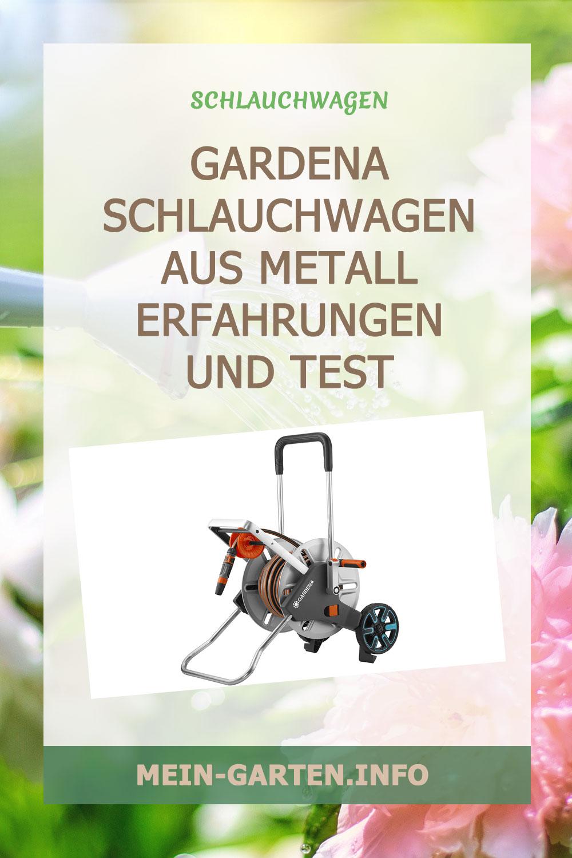 Gardena Schlauchwagen Metall >> Erfahrungen und Test