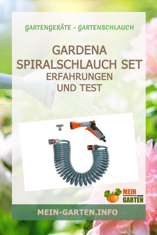 Gardena Spiralschlauch Set