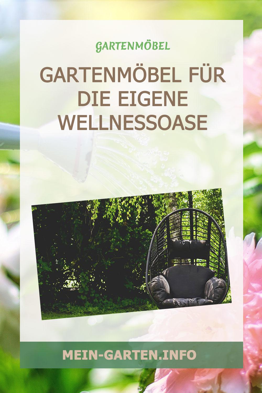 Gartenmöbel für die eigene Wellnessoase