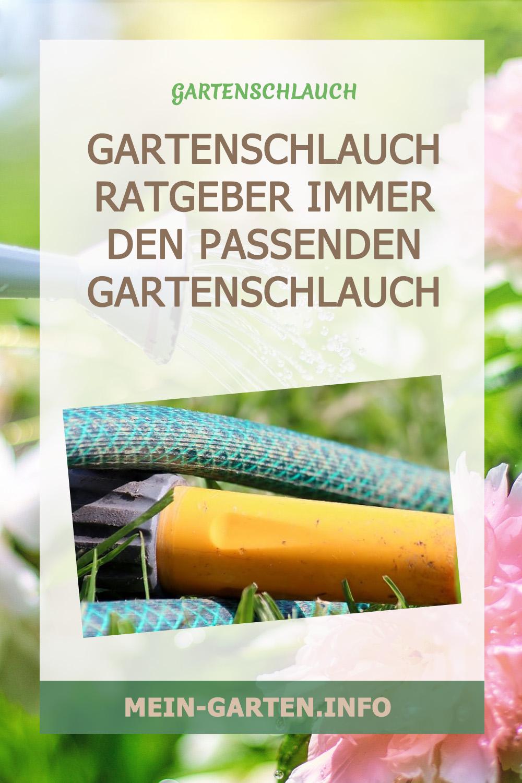 Gartenschlauch Ratgeber immer den passenden Gartenschlauch