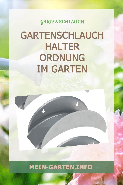 Gartenschlauchhalter freistehend oder als Wandschlauchhalter?