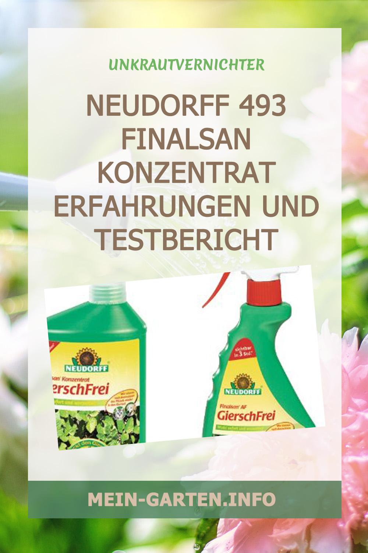 Neudorff 493 Finalsan Konzentrat Erfahrungen und Testbericht