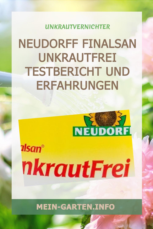 Neudorff Finalsan Unkrautfrei Testbericht und Erfahrungen