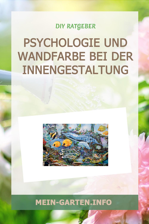Psychologie und Wandfarbe bei der Innengestaltung