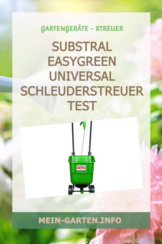 Substral EasyGreen Universal Schleuderstreuer Test