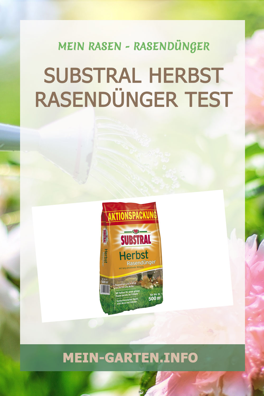 Substral Herbst Rasendünger Test