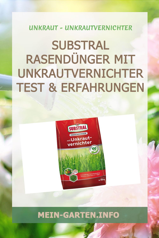 Substral Rasendünger mit Unkrautvernichter Test und Erfahrungen