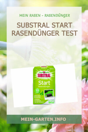 Substral Start Rasendünger Test