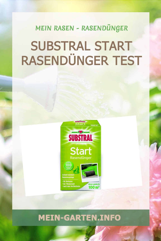 Substral Start Rasendünger ein NPK Dünger in Premium Qualität